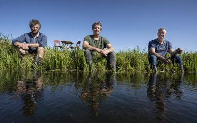 Boeren met lef piloten met hoog slootwater- en grondwaterpeil