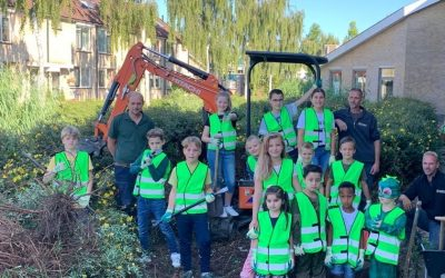 Een groener schoolplein voor OBS De Tuimelaar